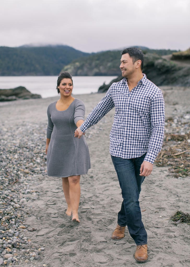 Maryelle and Brian Photo Credit: Clane Gessel Hair & Makeup Credit: Erin Skipley